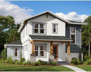 Allure - Elev A Elevation - 2,771 sqft, 4-5 Bedroom, 3.5 Bathroom - Cardel Homes Tampa
