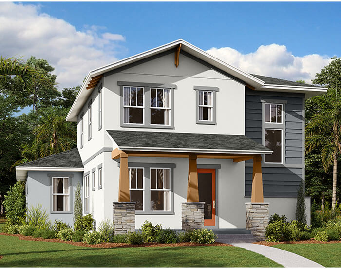 New home in ALLURE in Laureate Park in Lake Nona, 2,771 SQFT, 4-5 Bedroom, 3.5 Bath, Starting at 519,990 - Cardel Homes Tampa
