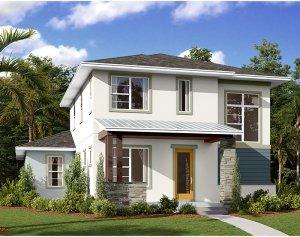Allure - Elev B Elevation - 2,771 sqft, 4-5 Bedroom, 3.5 Bathroom - Cardel Homes Tampa