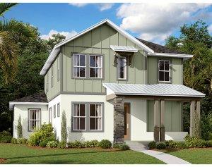 Allure - Elev C Elevation - 2,771 sqft, 4-5 Bedroom, 3.5 Bathroom - Cardel Homes Tampa