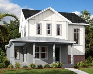 Allure - Elev D Elevation - 2,771 sqft, 4-5 Bedroom, 3.5 Bathroom - Cardel Homes Tampa