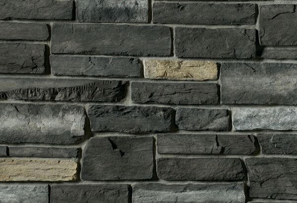 Boral Stone County Ledgestone Black Rundle