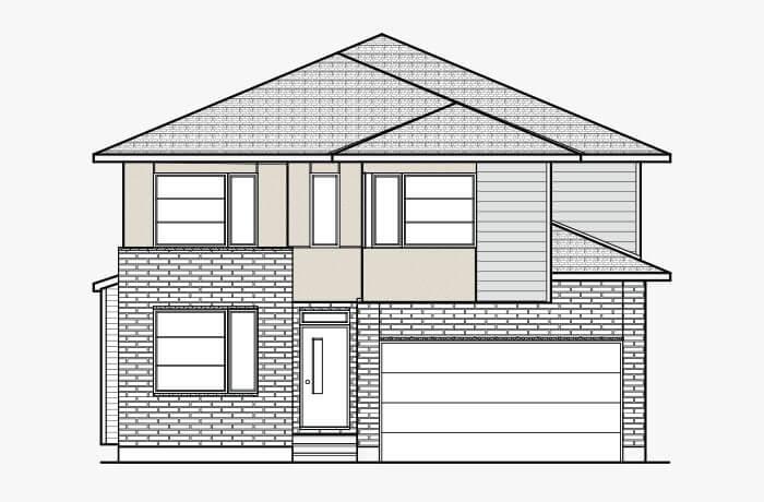 New Ottawa Single Family Home Quick Possession Durham in Blackstone in Kanata South, located at 263 Condado Crescent Built By Cardel Homes Ottawa