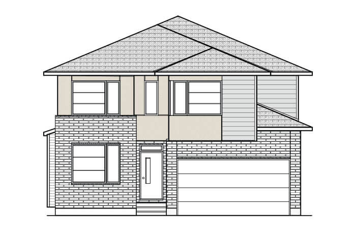 New Ottawa Single Family Home Quick Possession Durham in Blackstone in Kanata South, located at 263 Condado Crescent Built By Cardel Homes