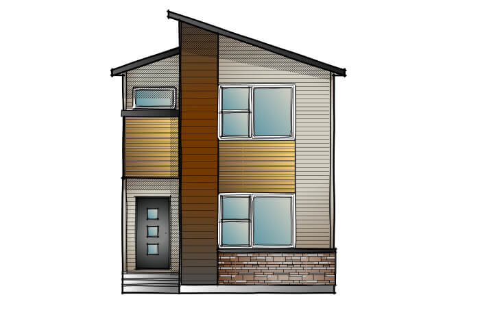 New Calgary Single Family Home Quick Possession Mensa 2 in Walden, located at 104 Walgrove Drive SE Built By Cardel Homes