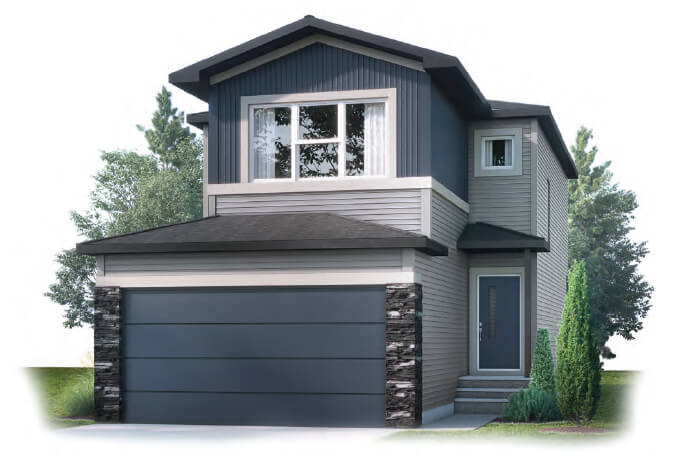 New Calgary Single Family Home Quick Possession EVO 2 in Walden, located at 209 Walgrove Terrace SE Built By Cardel Homes