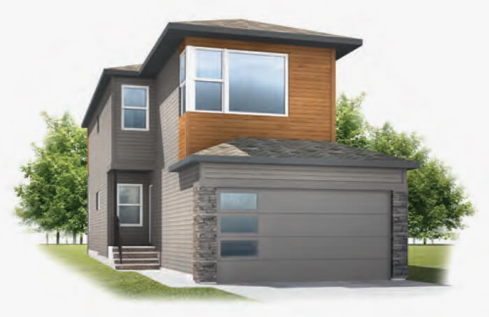 New Calgary Single Family Home Quick Possession Sereno 2 in Walden, located at 333 Walgrove Terrace SE Built By Cardel Homes Calgary