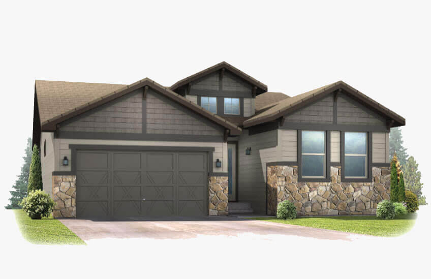 New Calgary Single Family Home Pebble Beach in Shawnee Park, located at 6288 Dakota Ridge Drive Built By Cardel Homes Calgary
