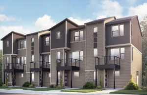 KENNEDY-Towns - Kennedy WMS Elevation - 1,606 sqft, 2 Bedroom, 2.5 Bathroom - Cardel Homes Denver