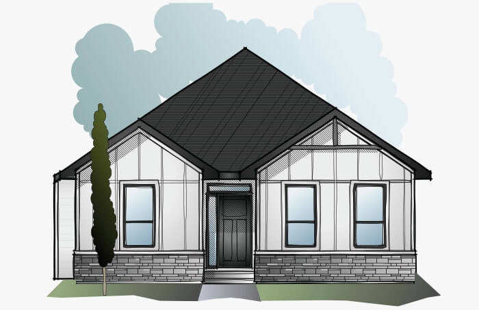 New Calgary Single Family Home Quick Possession Cambria Court in Shawnee Park, located at 362 Shawnee Blvd SW Built By Cardel Homes Calgary