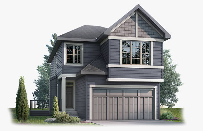 New Calgary Single Family Home Quick Possession Custom Home in Shawnee Park, located at 39 Shawnee Heath SW Built By Cardel Homes Calgary