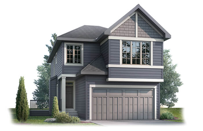 New Calgary Single Family Home Quick Possession Custom Home in Shawnee Park, located at 39 Shawnee Heath SW Built By Cardel Homes