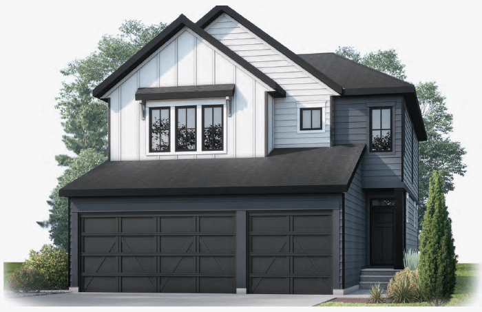 New Calgary Single Family Home Grafton in Shawnee Park, located at 460 Shawnee Blvd SW Built By Cardel Homes Calgary