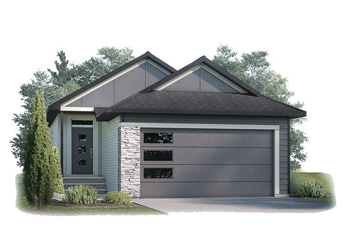 New Calgary Single Family Home Hudson in Shawnee Park, located at 119 Walgrove Green SE Built By Cardel Homes Calgary