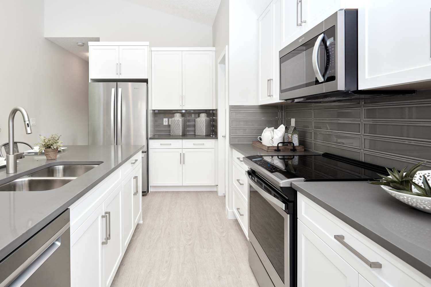 New Calgary  Model Home Hudson in Walden, located at 119 Walgrove Green SE Built By Cardel Homes Calgary