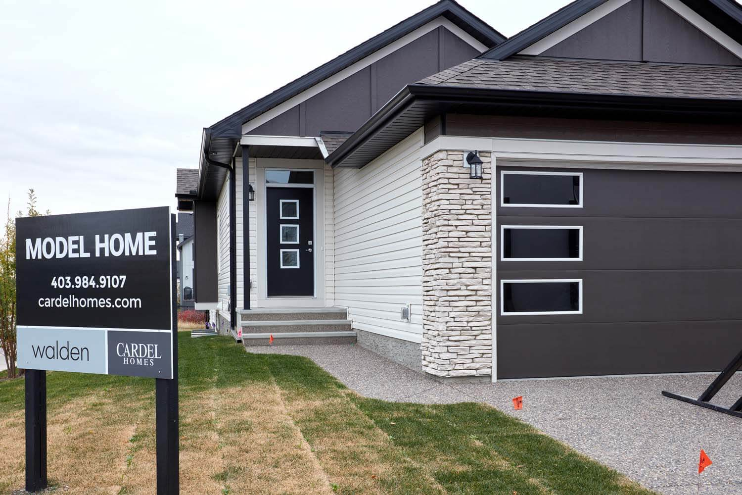 New Calgary Single Family Home Quick Possession Hudson in Walden, located at 119 Walgrove Green SE Built By Cardel Homes