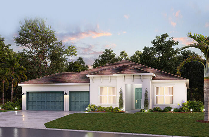 New home in CAMDEN in Worthington, 2,607 SQFT, 3 Bedroom, 3.5 Bath, Starting at 494,990 - Cardel Homes Tampa