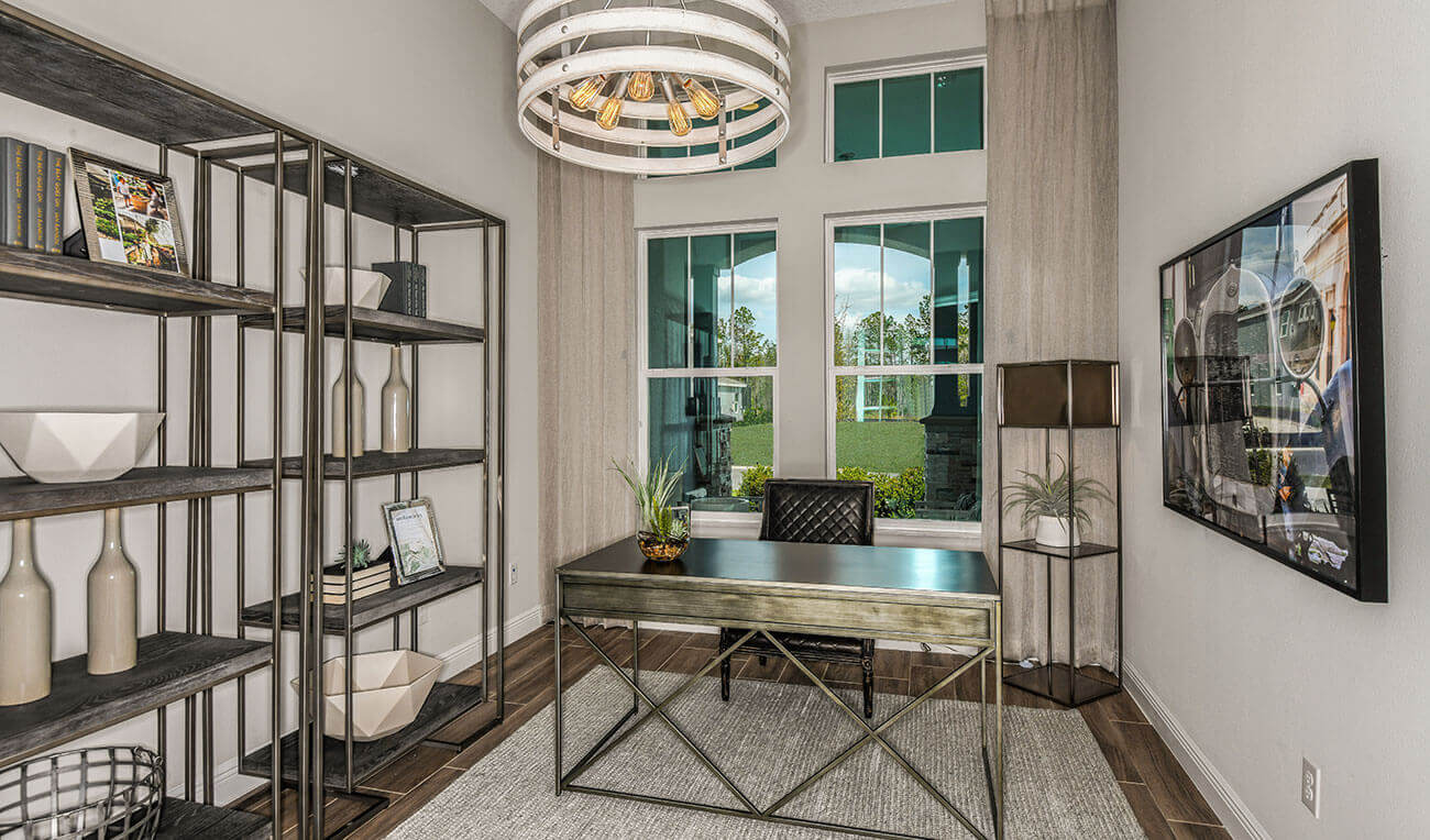 New Tampa Single Family Home Quick Possession Henley in Worthington, located at 4625 Antrim Dr, Sarasota, FL 34240 Built By Cardel Homes Tampa