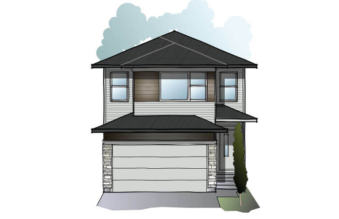 New Calgary Single Family Home Quick Possession EVO 1 in Walden, located at 232 Walgrove Heath SE Built By Cardel Homes