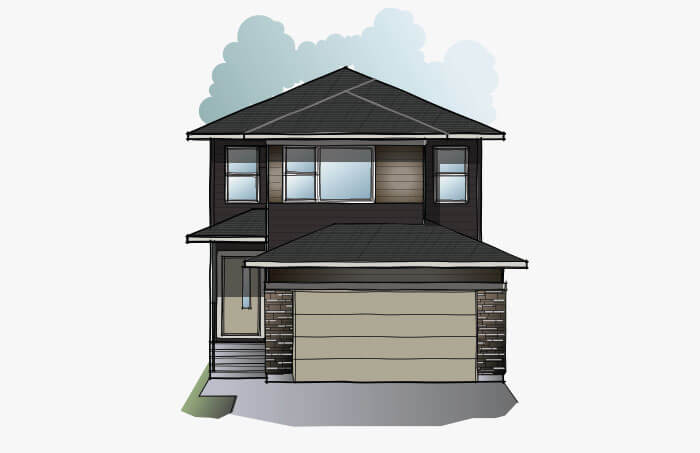 New Calgary Single Family Home Quick Possession EVO 1 in Walden, located at 51 Walden Place SE Built By Cardel Homes Calgary