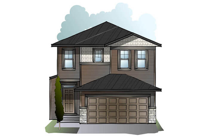 New home in MODENA in Savanna, 2,662 SQFT, 5 Bedroom, 4 Bath, Starting at  - Cardel Homes Calgary
