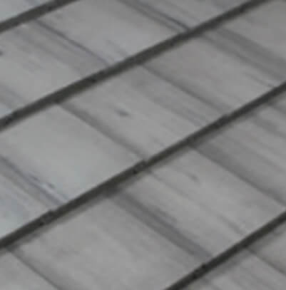 Flat Tiles - Smoke with Black Antique