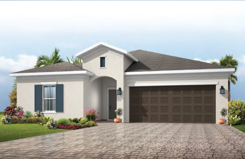 New Tampa Single Family Home Quick Possession Northwood in Waterset, located at 5622 Del Coronodo Dr, Apollo Beach (Lot 7) Built By Cardel Homes