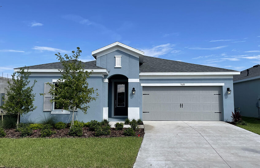New Tampa Single Family Home Quick Possession Northwood in Waterset, located at 5622 Del Coronado Dr, Apollo Beach (Lot 7) Built By Cardel Homes Tampa