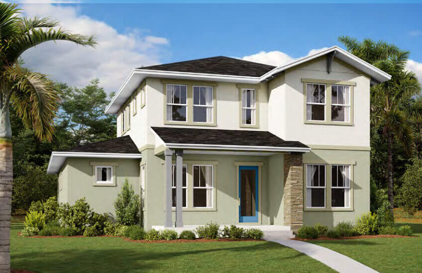 New Tampa Single Family Home Quick Possession Brilliance in Laureate Park in Lake Nona, located at 6606 BRIDGMAN ST, ORLANDO, FL 32827 Built By Cardel Homes