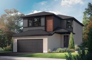 EW-NEUVO1-B3_MODERN Elevation - 2,040 sqft, 3-4 Bedroom, 2.5-3.5 Bathroom - Cardel Homes Ottawa