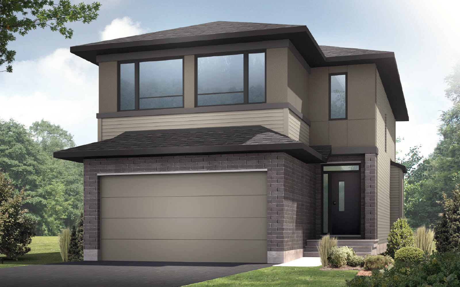New Calgary Single Family Home Auden in Shawnee Park, located at 513 EdenWylde Drive, Stittsville Built By Cardel Homes Calgary