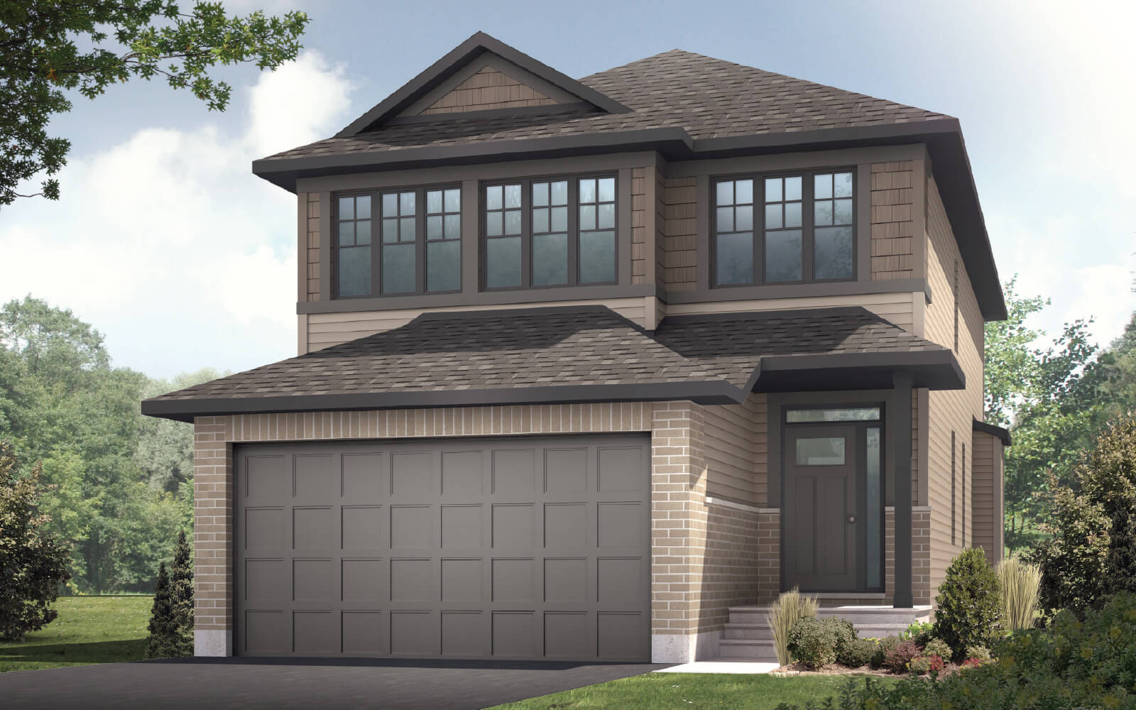 New Calgary Single Family Home Paloma in Shawnee Park, located at 515 EdenWylde Drive, Stittsville Built By Cardel Homes Calgary