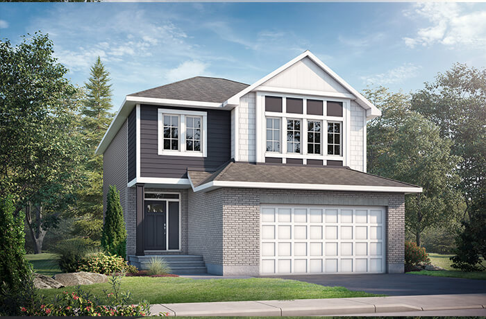 New home in GRAFTON in Blackstone in Kanata South, 2,346 SQFT, 3-5 Bedroom, 2.5-3 Bath, Starting at 919,498 - Cardel Homes Ottawa