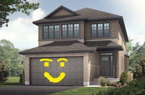 Paloma TEST - A1 Canadiana Test Elevation - 2,233 sqft, 3 - 5 Bedroom, 2.5 - 4 Bathroom - Cardel Homes Ottawa