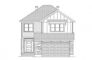 GRAFTON BSPS - Farmhouse B2 Elevation - 2,346 sqft, 3-5 Bedroom, 2.5-3 Bathroom - Cardel Homes Ottawa
