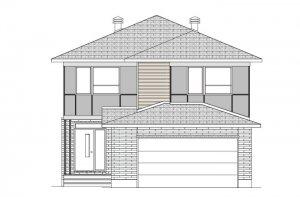 GRAFTON BSPS - Modern B3 Elevation - 2,346 sqft, 3-5 Bedroom, 2.5-3 Bathroom - Cardel Homes Ottawa