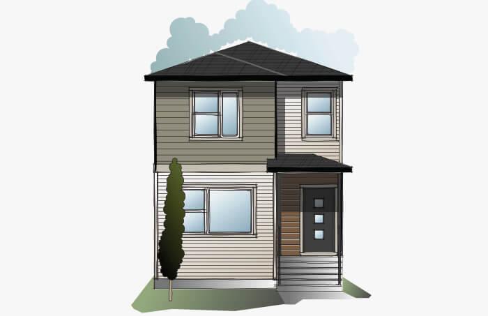 New Calgary Single Family Home Quick Possession Indigo 3 in Walden, located at 478 Walgrove Way SE Built By Cardel Homes Calgary
