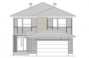 GRAFTON RR PS - Modern B3 Elevation - 2,346 sqft, 3-5 Bedroom, 2.5-3 Bathroom - Cardel Homes Ottawa