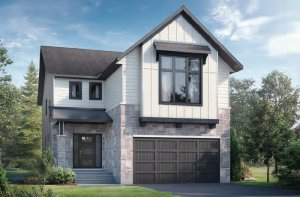 NORTH HAMPTON RR PS - Farmhouse B2 Elevation - 2,433 sqft, 3-4 Bedroom, 2.5-3.5 Bathroom - Cardel Homes Ottawa