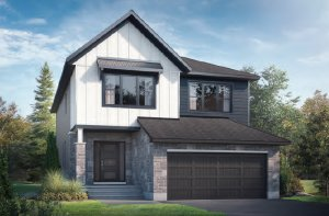 RAYBURN RR PS - Farmhouse B2 Elevation - 2,888 sqft, 4-5 Bedroom, 2.5-3.5 Bathroom - Cardel Homes Ottawa
