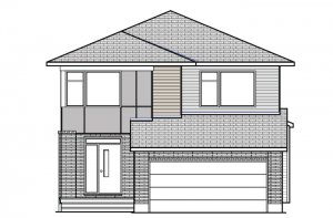 RAYBURN RR PS - Modern B3 Elevation - 2,888 sqft, 4-5 Bedroom, 2.5-3.5 Bathroom - Cardel Homes Ottawa