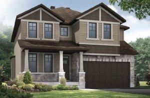 DURHAM RR PS - Canadiana A1 Elevation - 2,294 sqft, 4 Bedroom, 2.5 Bathroom - Cardel Homes Ottawa