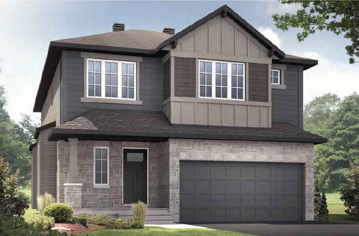 New home in DEVONSHIRE 2 in Richardson Ridge in Kanata, 2,227 SQFT, 4 Bedroom, 2.5 Bath, Starting at  - Cardel Homes Ottawa