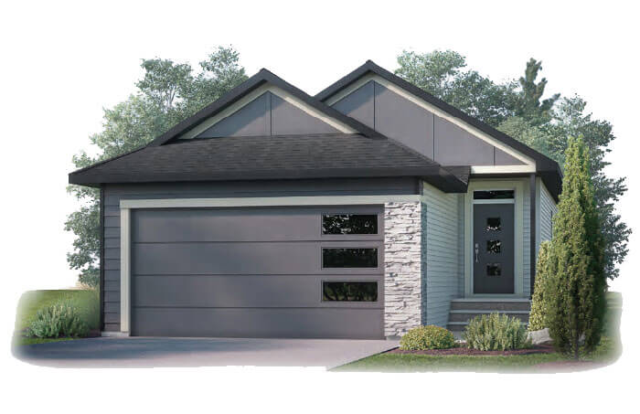 New Calgary Single Family Home Quick Possession Hudson in Walden, located at 80 Walgrove Terrace SE Built By Cardel Homes