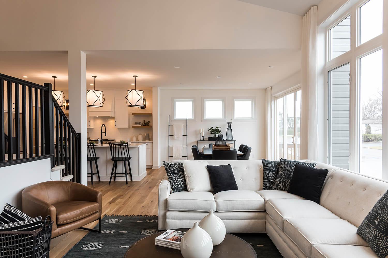 New Ottawa Single Family Home Quick Possession Nichols in Blackstone in Kanata South, located at 403 Gidran Circle, Kanata Built By Cardel Homes Ottawa