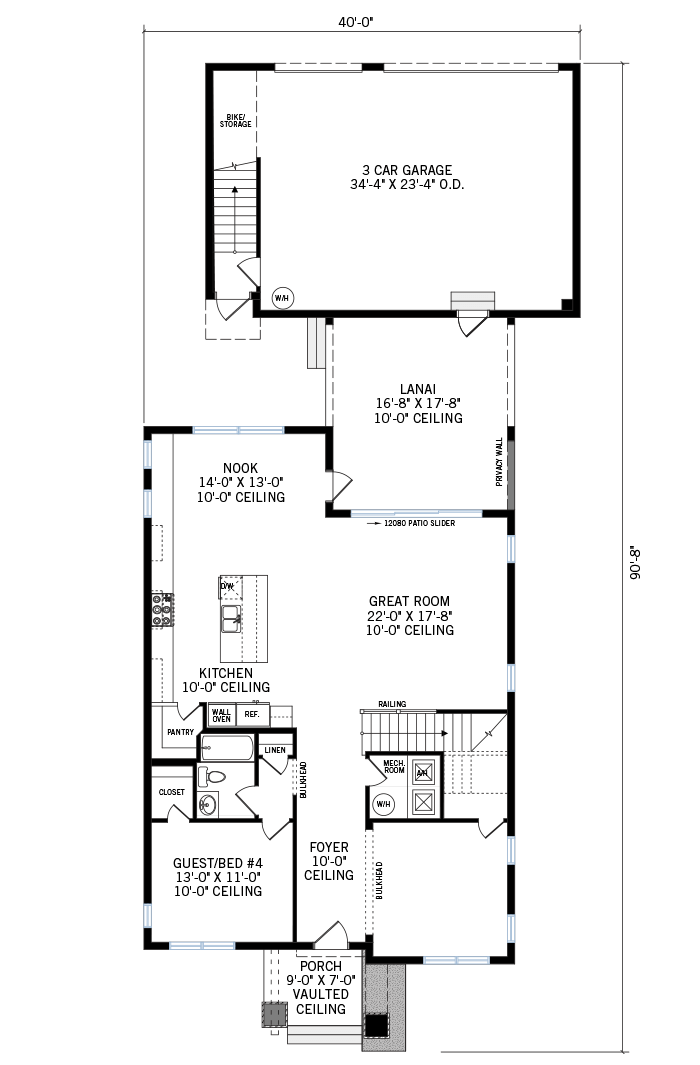 The Symphony home main floor quick possession in Laureate Park in Lake Nona, located at 6921 Arnoldson St, Orlando, FL Tampa Built By Cardel Homes