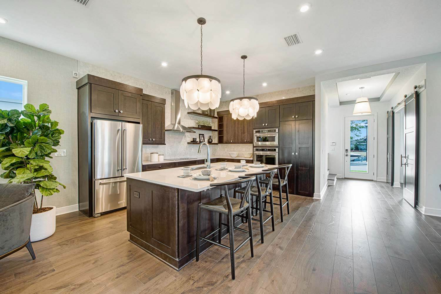 New Tampa  Model Home Allure in Laureate Park in Lake Nona, located at 6905 Arnoldson St, Orlando, FL Built By Cardel Homes Tampa