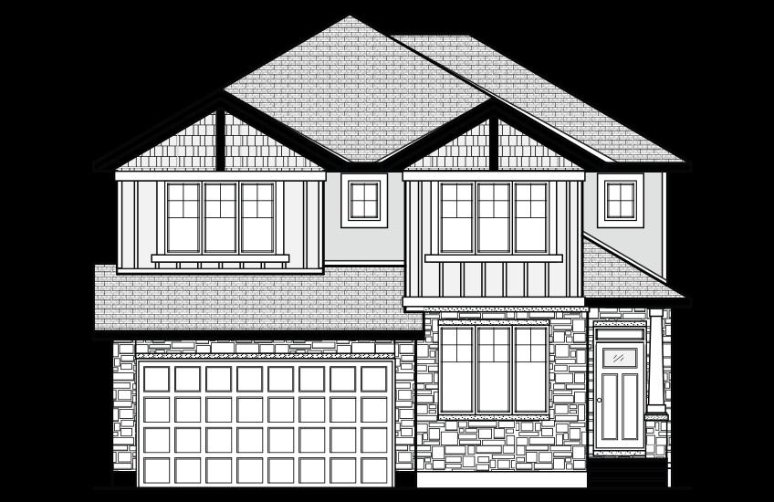 New Ottawa Single Family Home Quick Possession Nichols in Blackstone in Kanata South, located at 403 Gidran Circle, Kanata Built By Cardel Homes