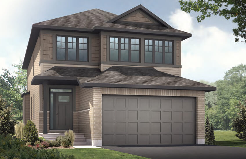 New Ottawa Single Family Home Quick Possession Paloma in EdenWylde, located at 802 Sendero Way, Stittsville Built By Cardel Homes