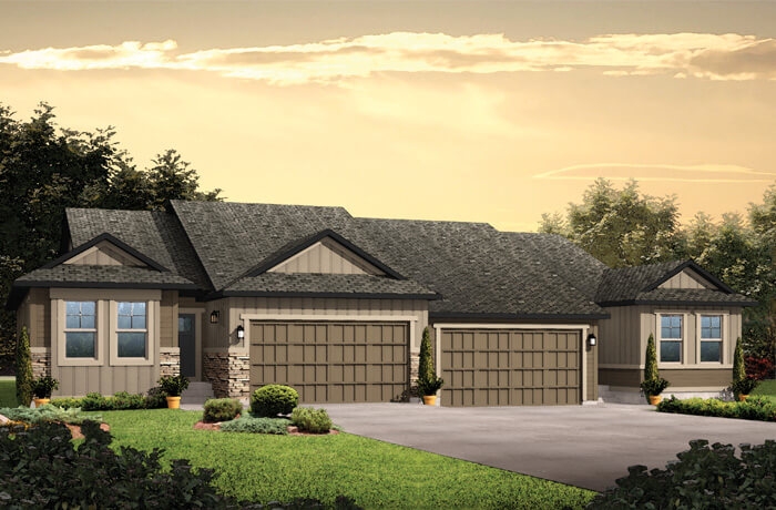 New Denver Single Family Home Quick Possession Willow in Lincoln Creek, located at 6802 Sea Oats Dr Built By Cardel Homes Denver